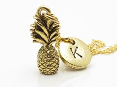 Pineapple Necklace a