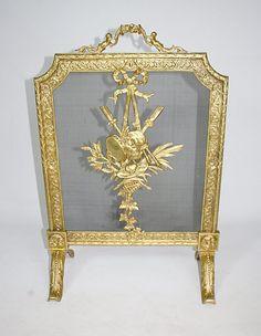 Brass peacock fireplace screen $65   Queen of Craigslist ...