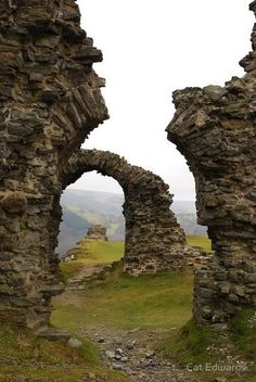 Wales. Yup. Wales. Perfect picturesque Zelenia. ;)