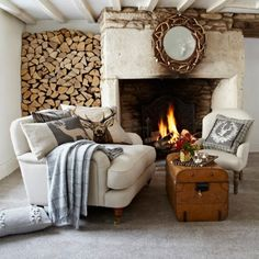 Homes that are decorated perfectly for the autumn months