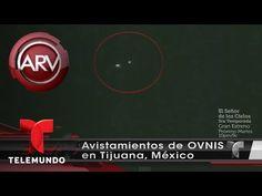 Graban a supuestos OVNIS volando en Tijuana, México   Al Rojo Vivo   Telemundo
