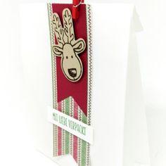 Stampin' Up Weihnachten Ausgestochen Weihnachtlich Chili Gartengrün