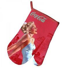 Luva de Cozinha Coca-Cola Pinup #retro #coca-cola #pinup