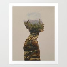 Side by Side Art Print by Davies Babies - $21.99