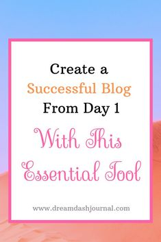 Have you been researching how to create a successful blog? Wondering how to become a blogger with thousands of readers who earns a decent income and loves what they do? You may have read articles with titles similar to this one, but you could be missing the # 1 most essential piece of the blogging puzzle. In this article, I'll share with you the MOST essential tool you need to create a successful blog. #blogging success #blogging for beginners Way To Make Money, Make Money Blogging, Make Money Online, Welcome To The Group, Best Blogs, Top Blogs, Ladies Group, Blog Topics, Be Your Own Boss