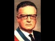 Salvador Allende socialist president during overthrown by Augusto Pinochet---------Died 1973 Che Guevara, Military Dictatorship, Martin Luther King, Atheist, Film, Catholic, 1970s, Youtube, Presidents