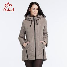 Astrid 2016 New Winter Coat Women High Quality Casual Fashion Parkas Brand Women Warm Jackets Plus Size L-5XL AM-2628 #>=#>=#>=#>=#> Click on the pin to check out discount price, color, size, shipping, etc. Save and like it!