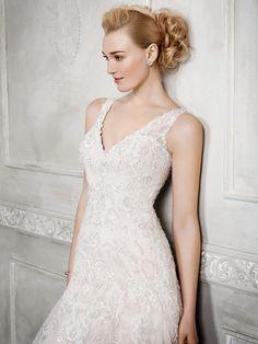 Kenneth Winston Style 1668 #weddingdress #bridal