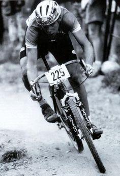 John Tomac black and white dirt drop bike