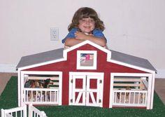 DIY Build a toy barn ~Robbie's Christmas!!!