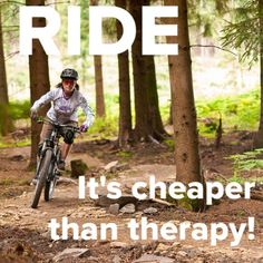 Biking - the answer to most of life's problems! #PembertonFest// pembertonmusicfestival.com