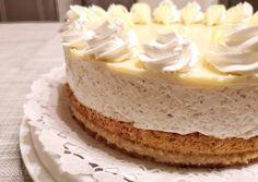 Körtés diótorta   Margaréta 🌼 receptje - Cookpad receptek Vanilla Cake, Mousse, Cheesecake, Dessert Recipes, Meals, Cooking, Food, Cakes, France