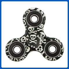 GPDSTAR Coloful EDC Tri Fidget Spinner Toy Anxiety and Stress Relief Hand Spinner(Blackgraffiti) - Fidget spinner (*Amazon Partner-Link)
