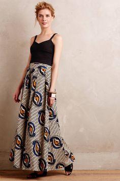 Maaike Maxi Skirt - anthropologie.com