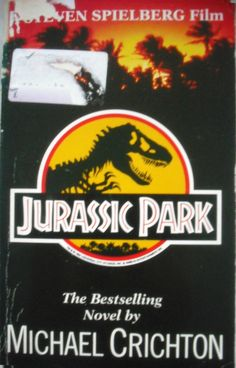 Jurassic Park - Michael Crichton. Way more scary than the movie!