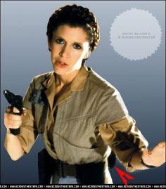Princess Leia, being her usual badass self. | Star Wars ... How Old Is Princess Leia In Star Wars Rebels