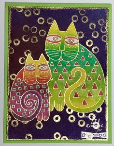 Are you ready to get your craft on for the weekend? If you are, then have you checked out the new line of Laurel Burch sta. Laurel Burch, Peter Max Art, Frida Art, Animal Graphic, Cottage Art, Indian Folk Art, Cat Fabric, Cat Quilt, Cat Cards