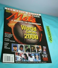 c5b926e21 World Series 2000 New York Yankees Magazine Special Collector s Edition  Fall  worldseries  baseball