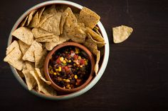 Avocado and Black Bean Salsa