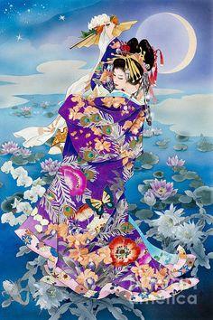 Tsuki Hoshi Variant I Print By Haruyo Morita