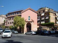 Church of Santa Giuliana Falconieri, Rome, Italy.  #ToHellAndBack #MariaRosaAuthor #Rome #Italy #CatholicChurch #travel