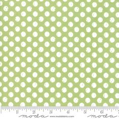 Lollipop Garden 5085 16 Green Polka Dots Moda Lella Boutique | Mysite Coral Pink, Red And Pink, Layer Cake Patterns, Jelly Roll Patterns, Best Weave, Mint And Berry, Quilt Material, Candy Stripes, Quilt Patterns