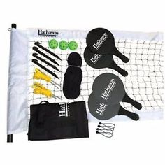 Outdoor Yard Games Portable Pickleball Game Set Backyard Lawn Family Fun New | eBay