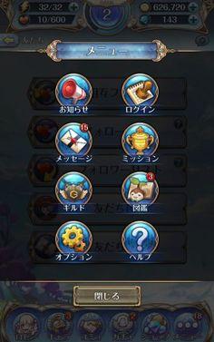 Screenshot_2017-03-04-23-26-52 Game Design, Ui Design, Game Ui, Action Icon, Ui Buttons, Game Icon, Icon Collection, Game Assets, Vignettes