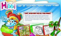Gry, kolorowanki, komiks dla najmłodszych