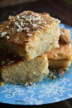 Εύκολα Σιροπιαστά Γλυκά---------Cake xalvas