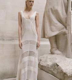 Crochet Skirts, Crochet Clothes, Knit Dress, Dress Skirt, 36, Fashion Inspiration, Magazine, Knitting, Crochet Dresses