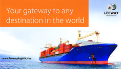 Leeway provides efficient and reliable end to end services in International Logistics.  Visit www.leewaylogistics.in or send your query to info@leewaylogistics.in