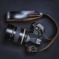 Vintage Cameras Loving this shot by of his Nikon Df with his beautiful Nikkor Classic! His black Westminster strap is looking nice as well! It finally looks like it's getting worn in. Nikon Df, Camera Nikon, Camera Gear, Camera Wrist Strap, Leather Camera Strap, Best Camera For Photography, Vintage Photography, Stylish Camera Bags, Vintage Cameras