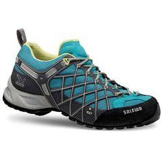 Love this hiking shoe! Salewa Wildfire Women.  www.outdoordivas.com #hikelikeagirl