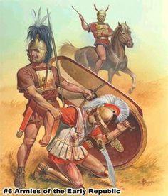 Samnite warriors, c. 400-350BCE