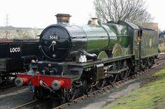 grange class locomotive - Google Search Steam Art, Steam Railway, Great Western, Steam Engine, Commercial Vehicle, Steam Locomotive, Toad, Public Transport, Paddle