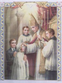 Beautiful Traditional Catholic Art Says It All