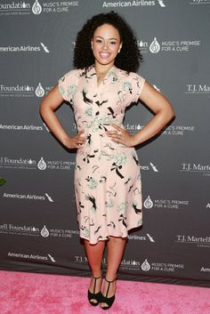 Elle Varner was spotted on the red carpet wearing the Bustle Betty in an older print called Slap and Tickle! #trashydivabustlebettydress #trashydivaslapandtickle