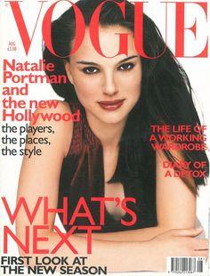 Natalie Portman by Regan Cameron Vogue UK August 1999