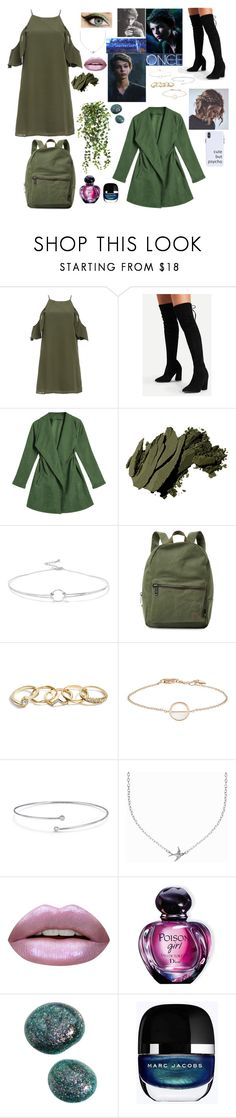 """""""Peter Pan • OUAT"""" by pollyesmeyates ❤ liked on Polyvore featuring Bobbi Brown Cosmetics, Once Upon a Time, Noir Jewelry, Herschel Supply Co., GUESS, Elsa Peretti, Minnie Grace, Huda Beauty and Christian Dior"""