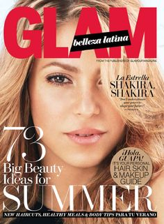 Meet our Summer 2014 cover star: The blonde belleza, SHAKIRA, SHAKIRA!