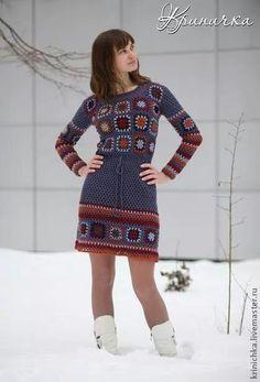 420 × 618 Pixel - Crochet plans, plots, and daydreams - kleidung Crochet Skirts, Crochet Clothes, Crochet Granny, Crochet Lace, Easy Crochet, Knit Patterns, Clothing Patterns, Clothing Ideas, Magia Do Crochet