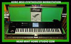 KORG M50 Synthesizer/Workstation 61Keys HomeStudio NM Gem in HARDCASE 1 Day Sale #Korg
