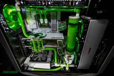 "Welcome to another Case Mod Friday showcase! This week we have Snef's ""Green Carnage"" build. Here is what he had to say about it, &qout;In a month, I will not have a gaming PC anymore. I need to build a new one, but I want it simple but VERY clean, will use it for my business. Theme will be white (fo…"