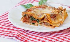 Grain-Free Lasagna with homemade 'noodles.' This tastes like the real thing!!