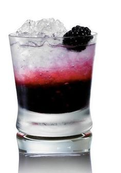Loopy Blackberry Lemonade  1.5 oz. Three Olives Loopy Vodka  5 Blackberries  3 oz. Lemonade (try Simply Lemonade!)  Muddle 4 blackberries in the bottom of a tumbler. Add ice, vodka and lemonade.