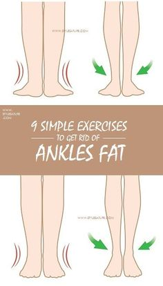 Body fitness is very important to every man and women to be healthy. Along with food habits do exercises to get rid of ankles fat for better fitness.