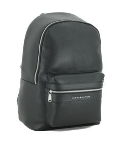 Modern Backpack, Tommy Hilfiger Damen, Backpacker, Leather Backpack, Fashion Backpack, Bags, Suitcase, Handbags, Black