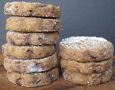 Espresso Chocolate Shortbread Cookies