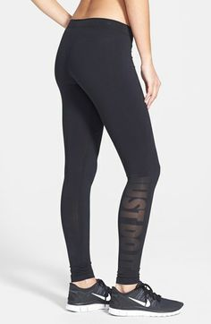 Nike 'Leg-A-See - Just Do It' Tights   Nordstrom